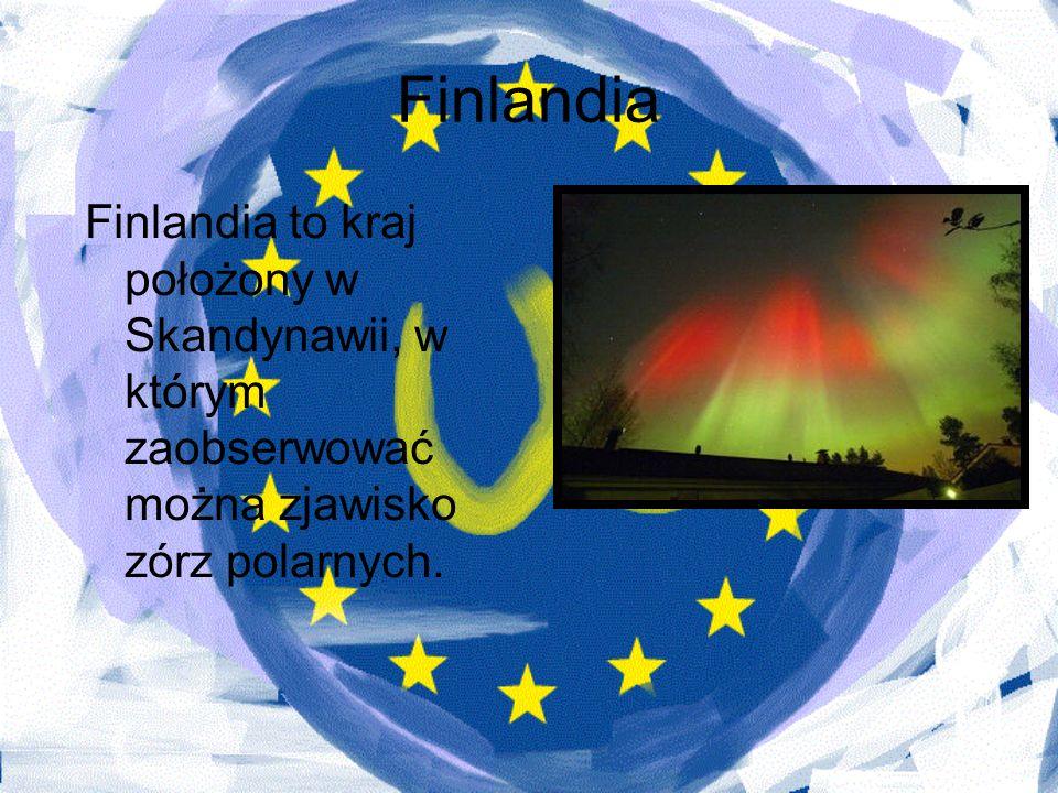 FinlandiaFinlandia to kraj położony w Skandynawii, w którym zaobserwować można zjawisko zórz polarnych.