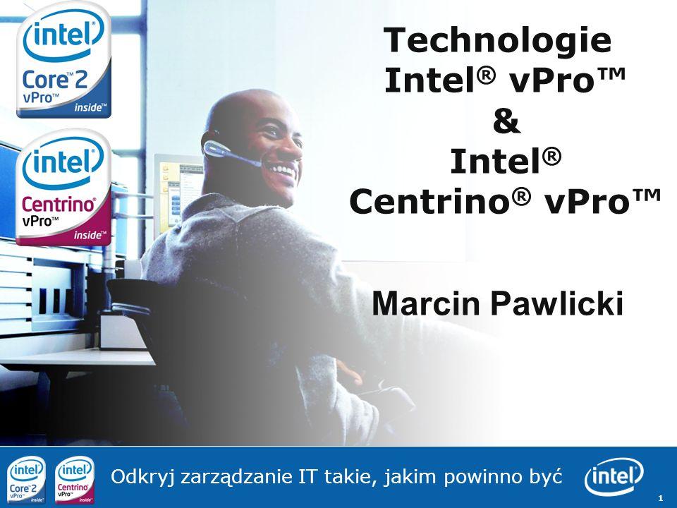 Technologie Intel® vPro™ & Intel® Centrino® vPro™