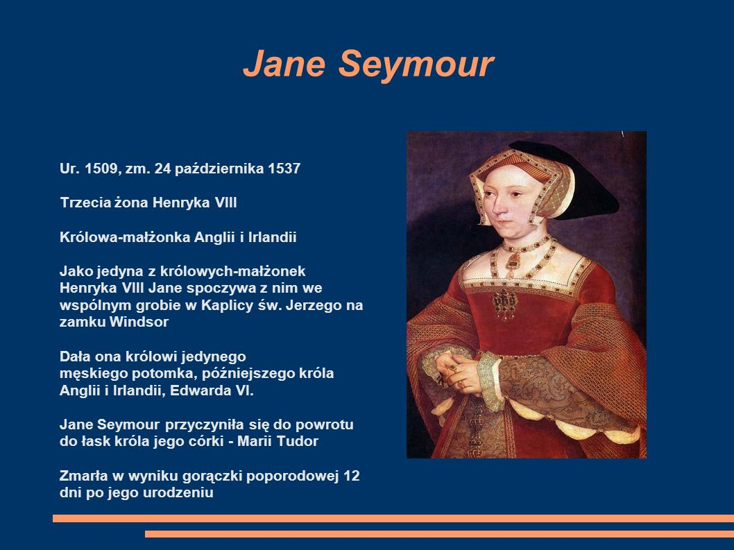 Jane Seymour Ur. 1509, zm. 24 października 1537
