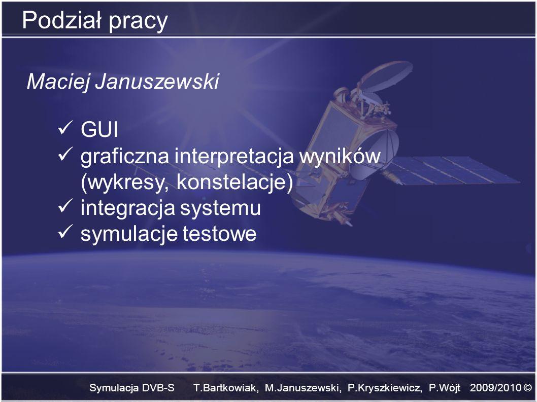 Podział pracy Maciej Januszewski GUI