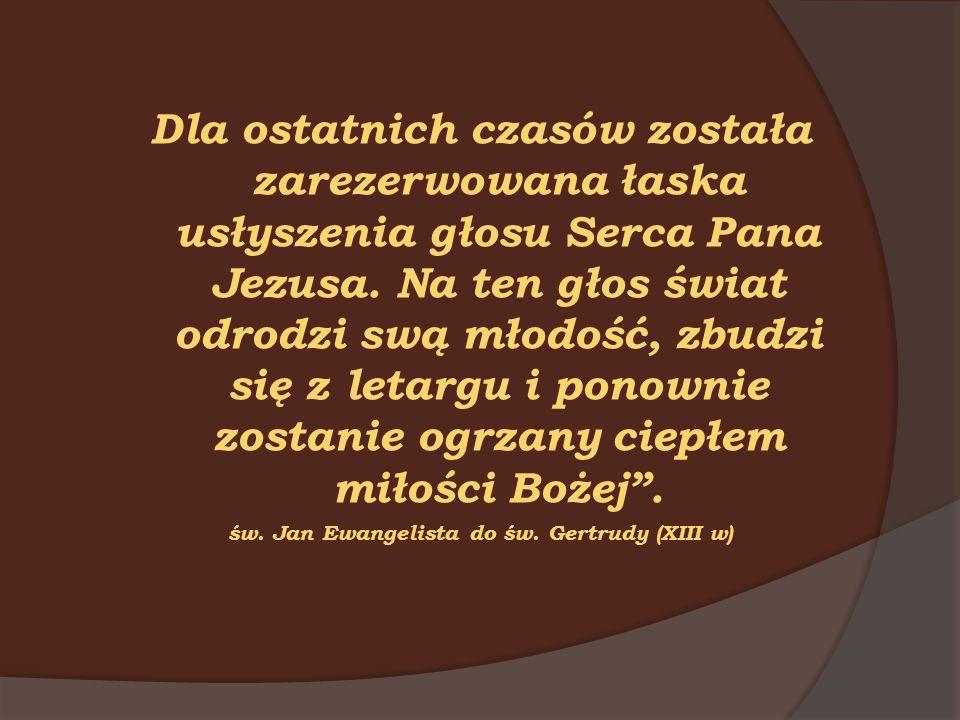 św. Jan Ewangelista do św. Gertrudy (XIII w)