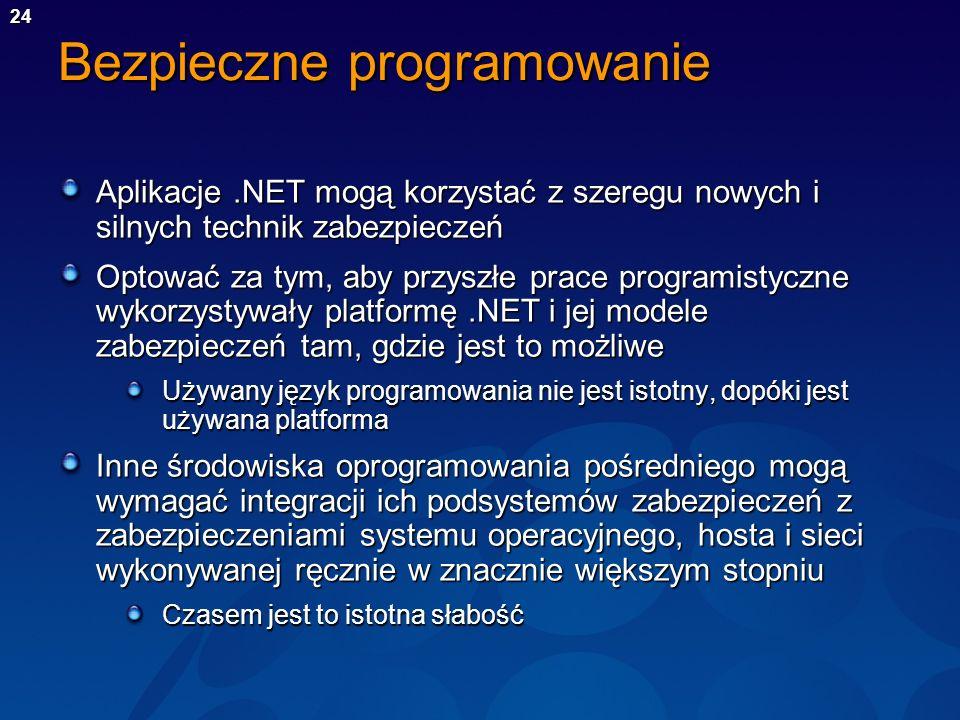 Bezpieczne programowanie