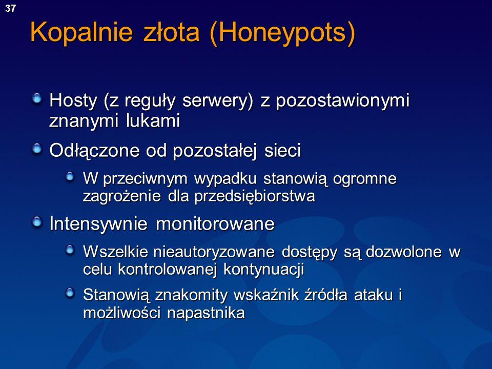 Kopalnie złota (Honeypots)