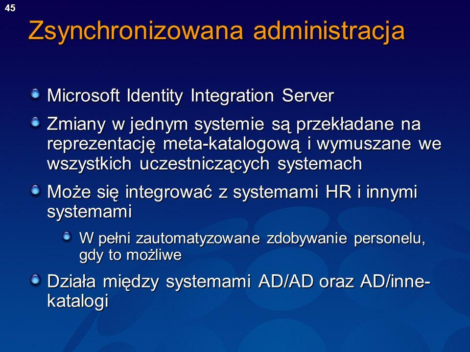Zsynchronizowana administracja