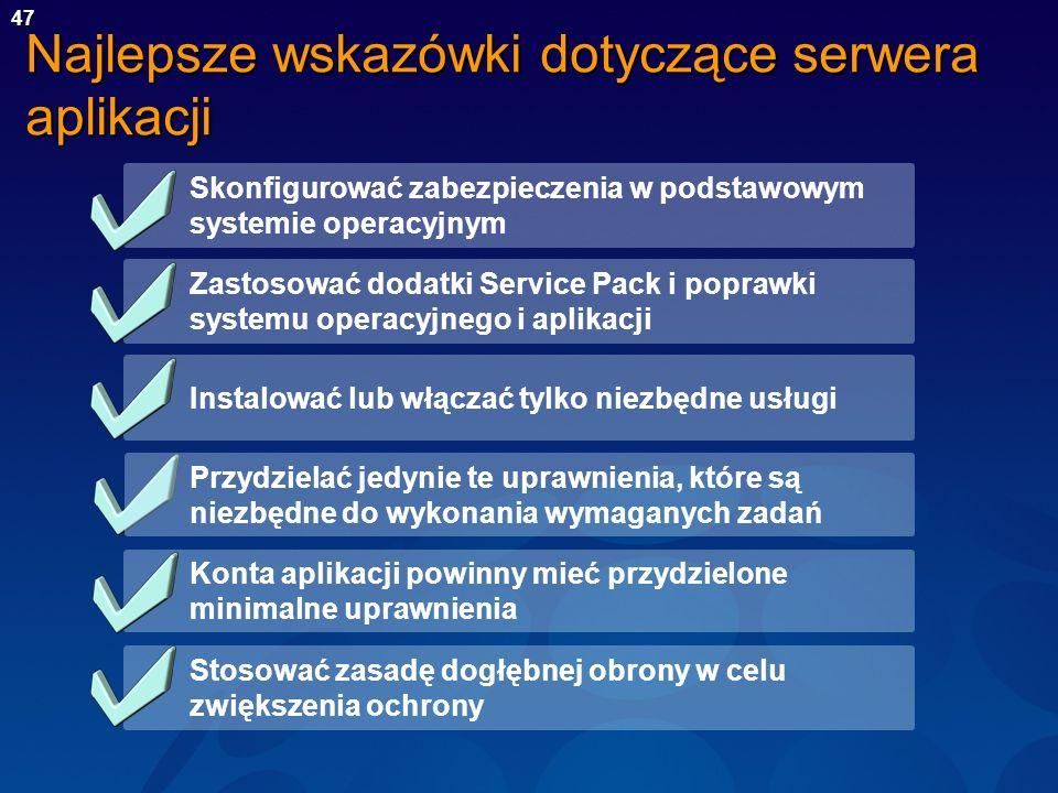 Najlepsze wskazówki dotyczące serwera aplikacji