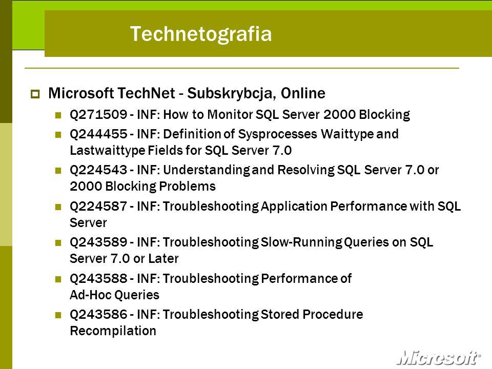 Technetografia Microsoft TechNet - Subskrybcja, Online