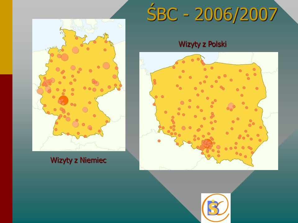 ŚBC - 2006/2007 Wizyty z Polski Wizyty z Niemiec