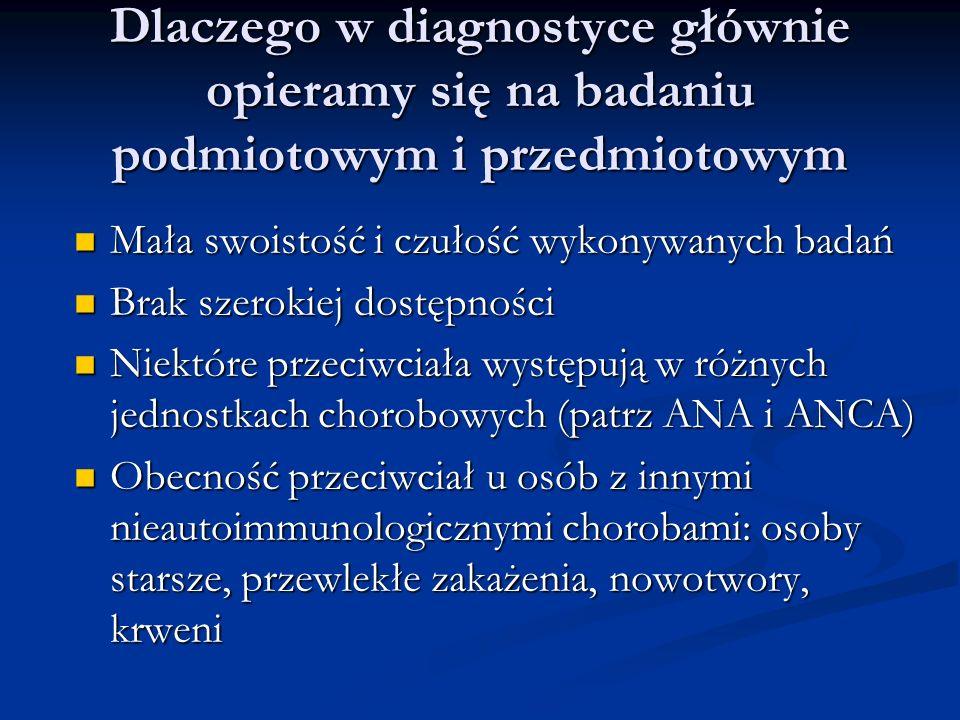 Dlaczego w diagnostyce głównie opieramy się na badaniu podmiotowym i przedmiotowym