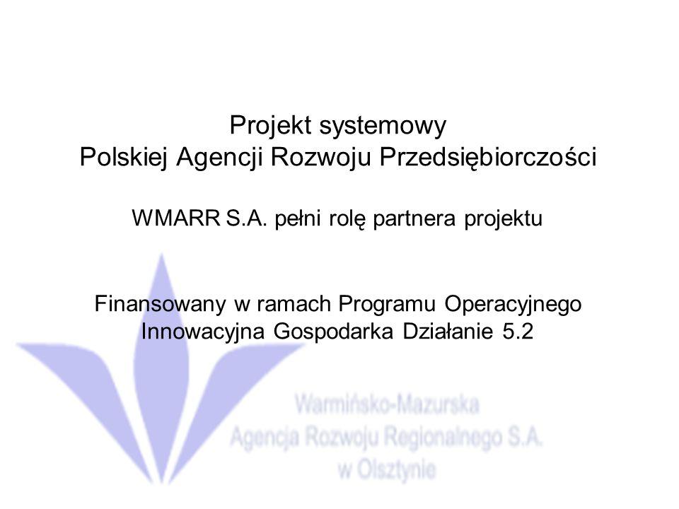 Polskiej Agencji Rozwoju Przedsiębiorczości