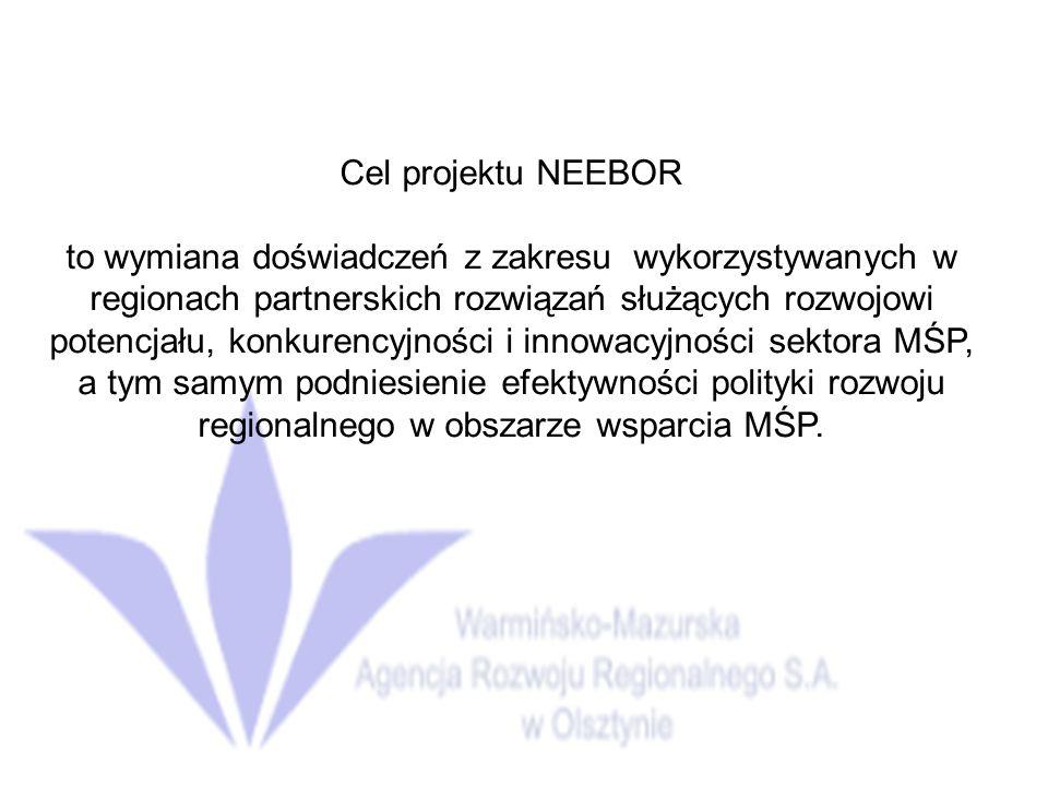 Cel projektu NEEBOR