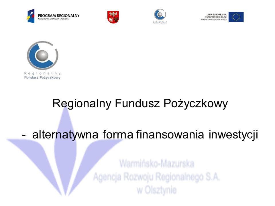 Regionalny Fundusz Pożyczkowy