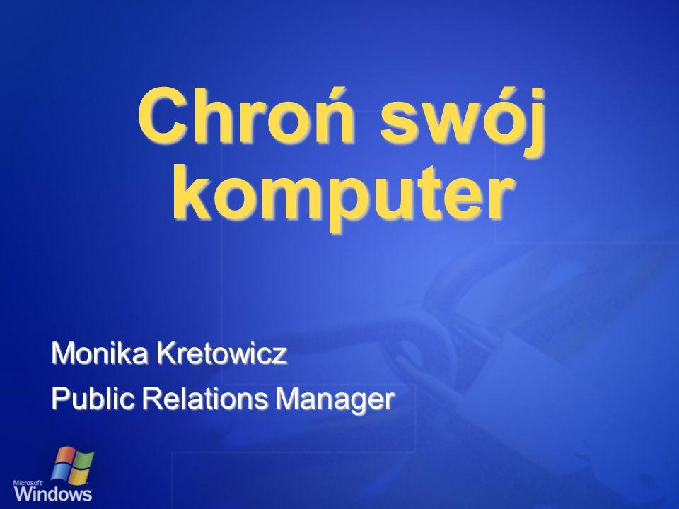 Monika Kretowicz Public Relations Manager