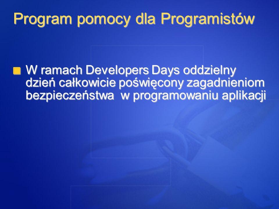 Program pomocy dla Programistów