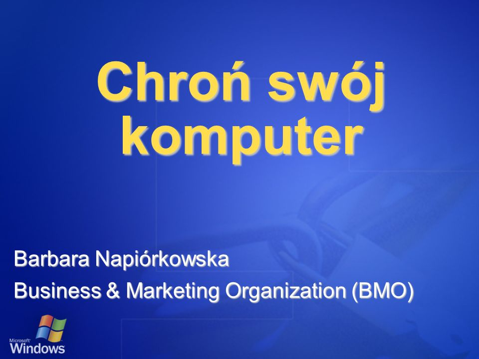 Barbara Napiórkowska Business & Marketing Organization (BMO)