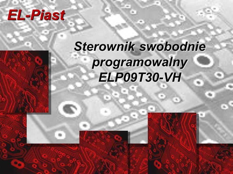 Sterownik swobodnie programowalny ELP09T30-VH