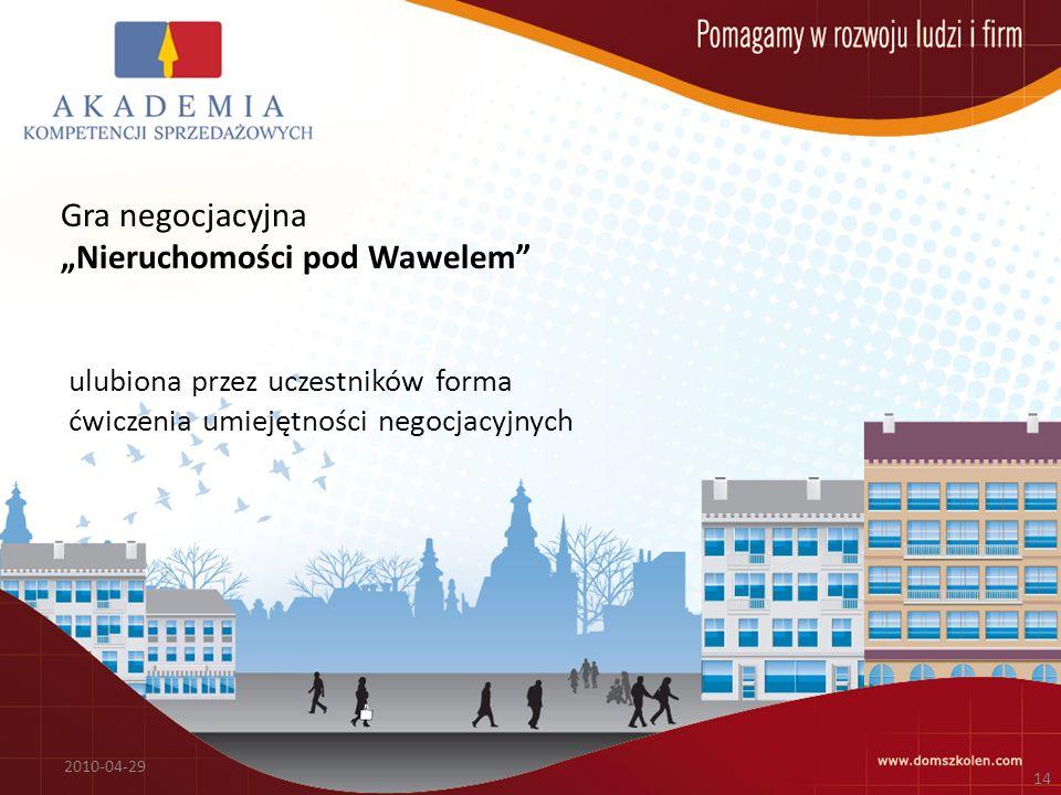 """""""Nieruchomości pod Wawelem"""