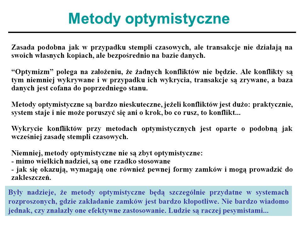 Metody optymistyczne