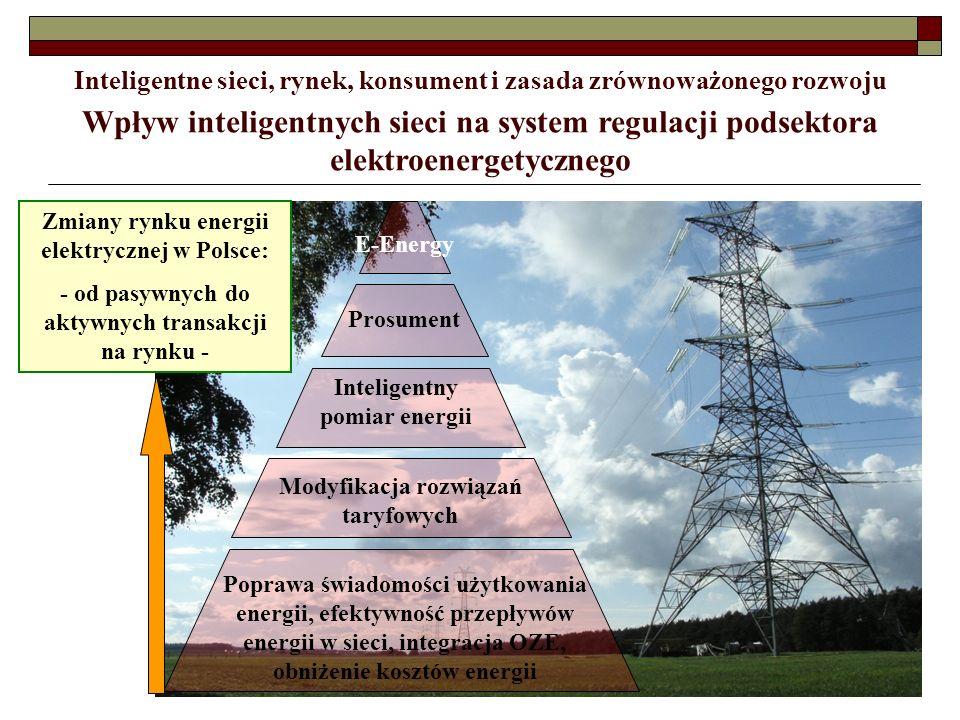 Inteligentne sieci, rynek, konsument i zasada zrównoważonego rozwoju