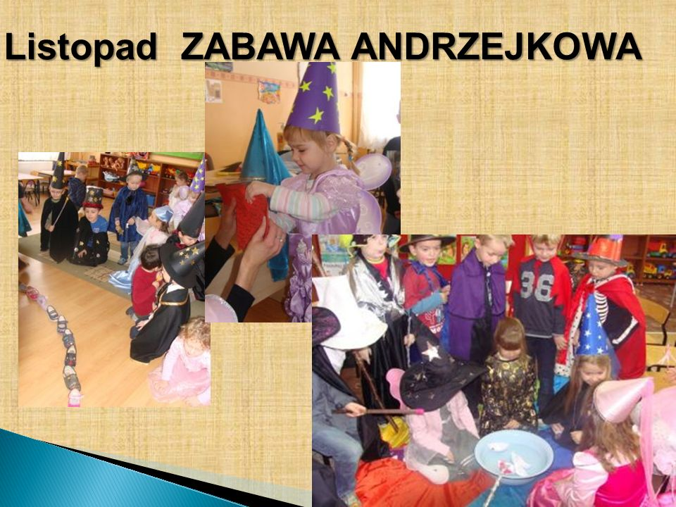 Listopad ZABAWA ANDRZEJKOWA