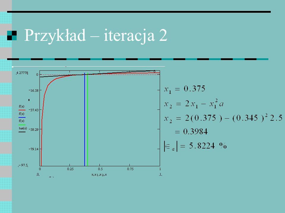 Przykład – iteracja 2