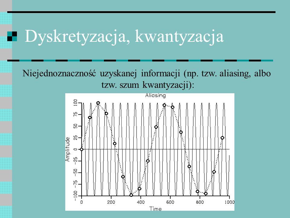 Dyskretyzacja, kwantyzacja
