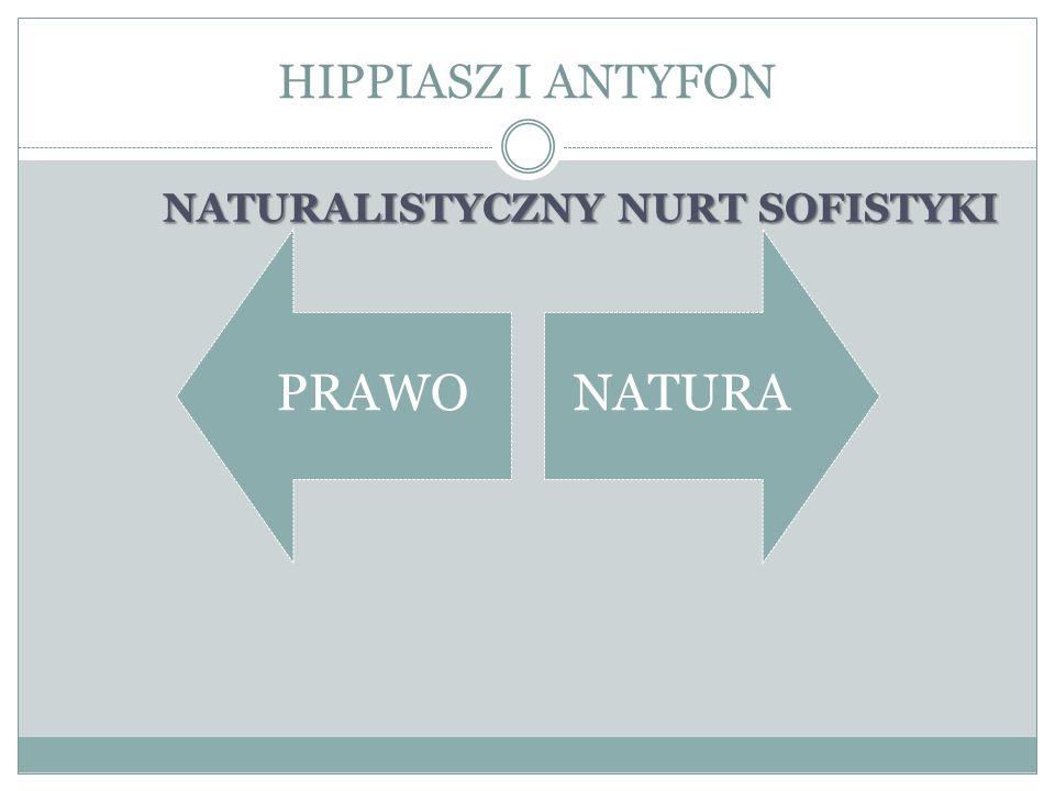 NATURALISTYCZNY NURT SOFISTYKI
