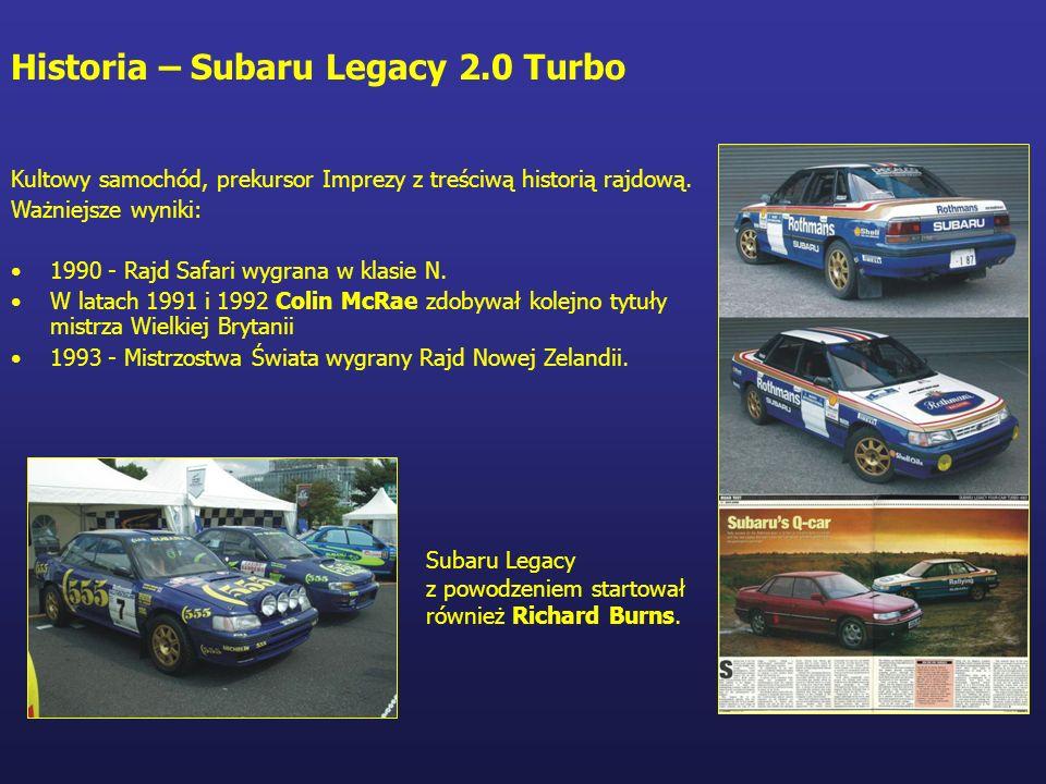 Historia – Subaru Legacy 2.0 Turbo