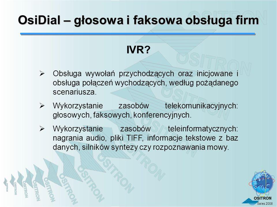 OsiDial – głosowa i faksowa obsługa firm