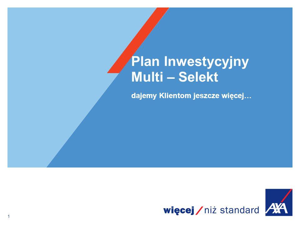 Plan Inwestycyjny Multi – Selekt
