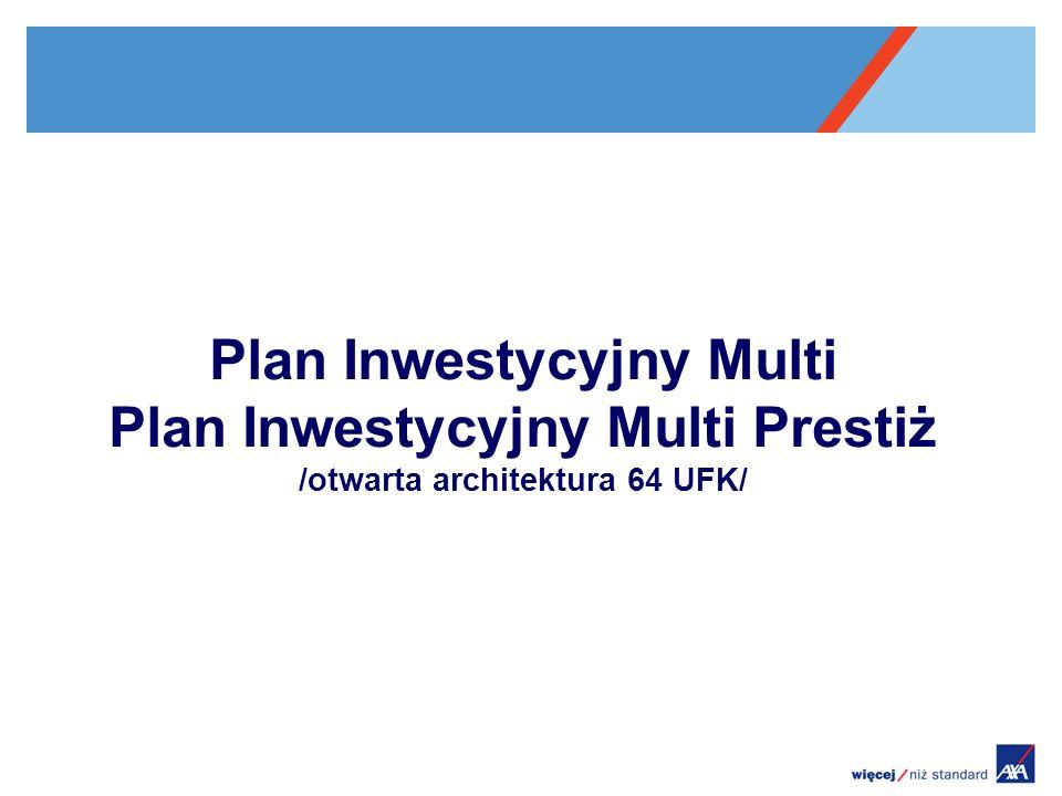 Plan Inwestycyjny Multi Plan Inwestycyjny Multi Prestiż /otwarta architektura 64 UFK/