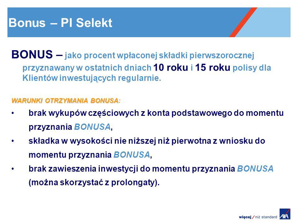 6 Bonus – PI Selekt.