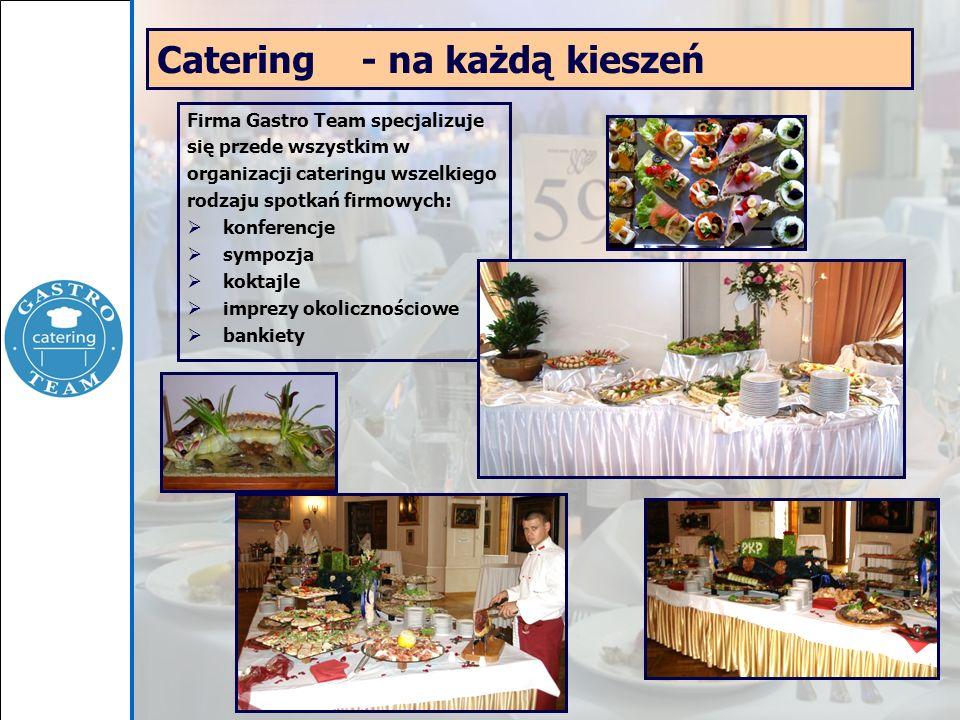 Catering - na każdą kieszeń