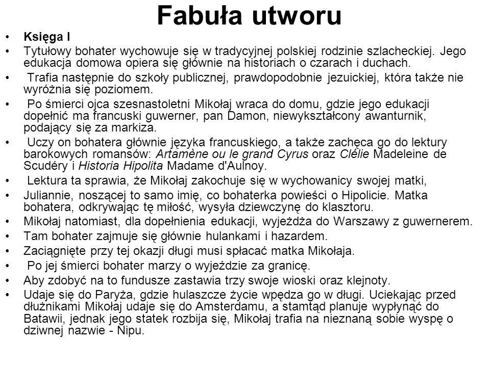 Fabuła utworuKsięga I.