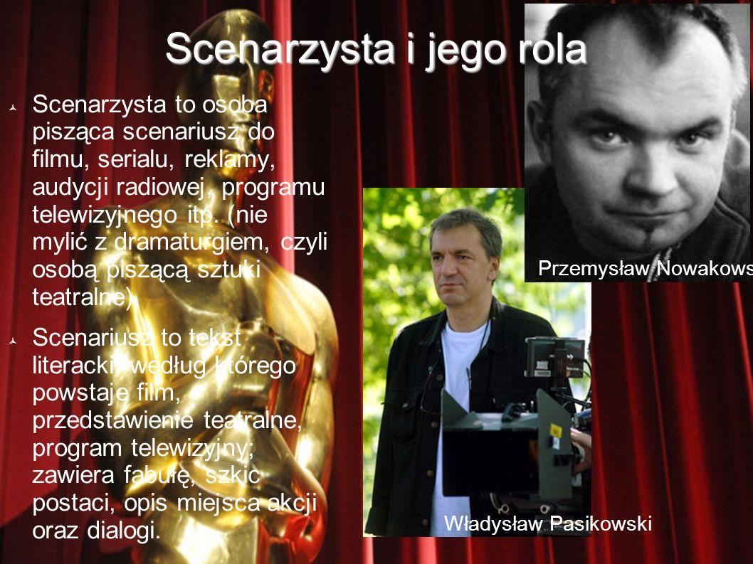 Scenarzysta i jego rola