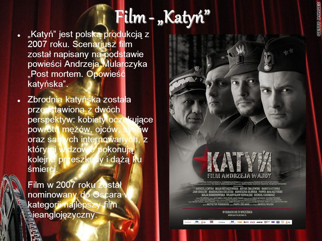 """Film - """"Katyń"""