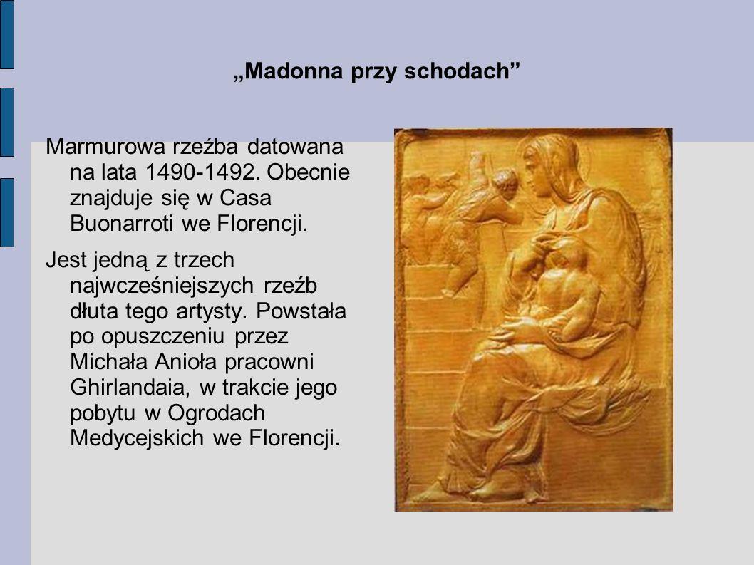 """""""Madonna przy schodach"""