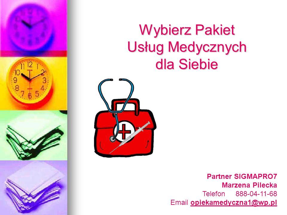 Wybierz Pakiet Usług Medycznych dla Siebie