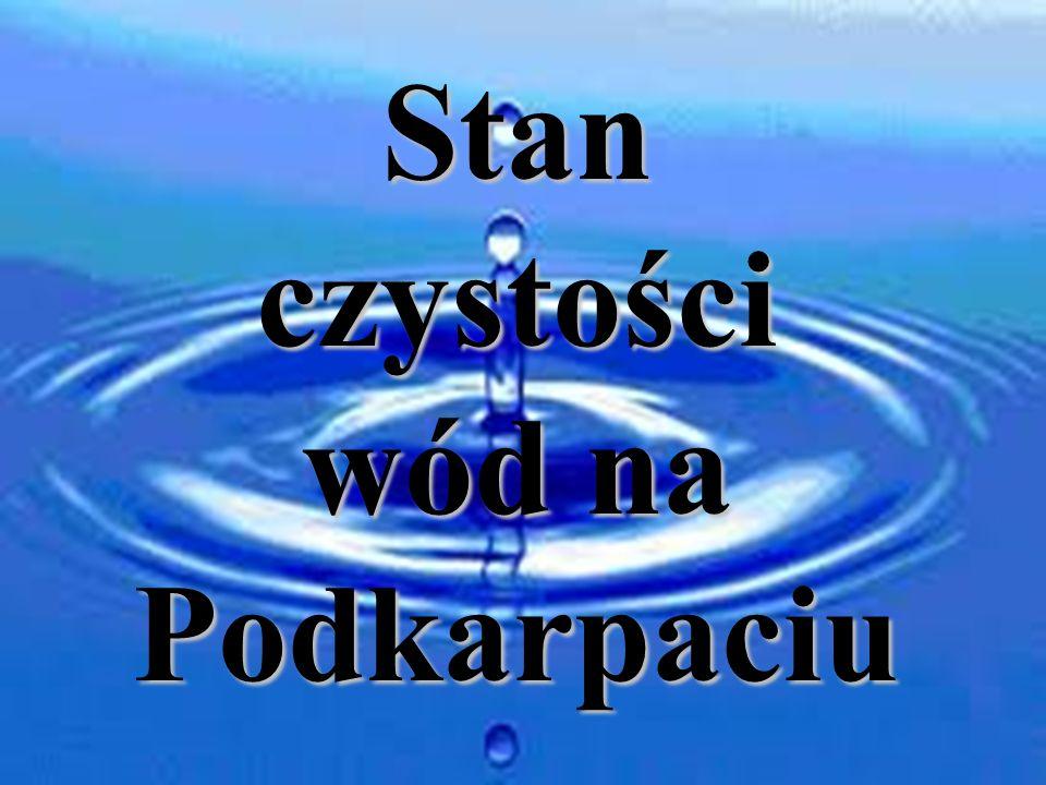 Stan czystości wód na Podkarpaciu