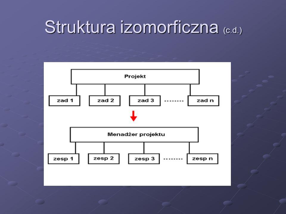 Struktura izomorficzna (c.d.)