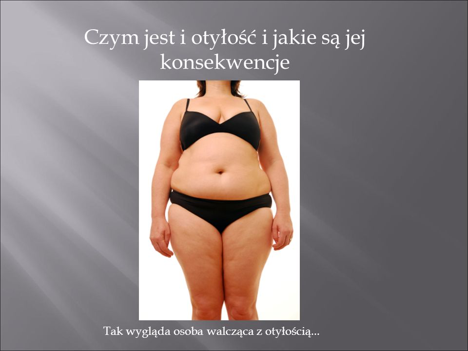 Czym jest i otyłość i jakie są jej konsekwencje