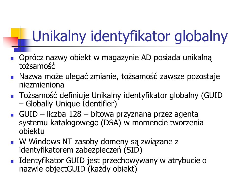 Unikalny identyfikator globalny