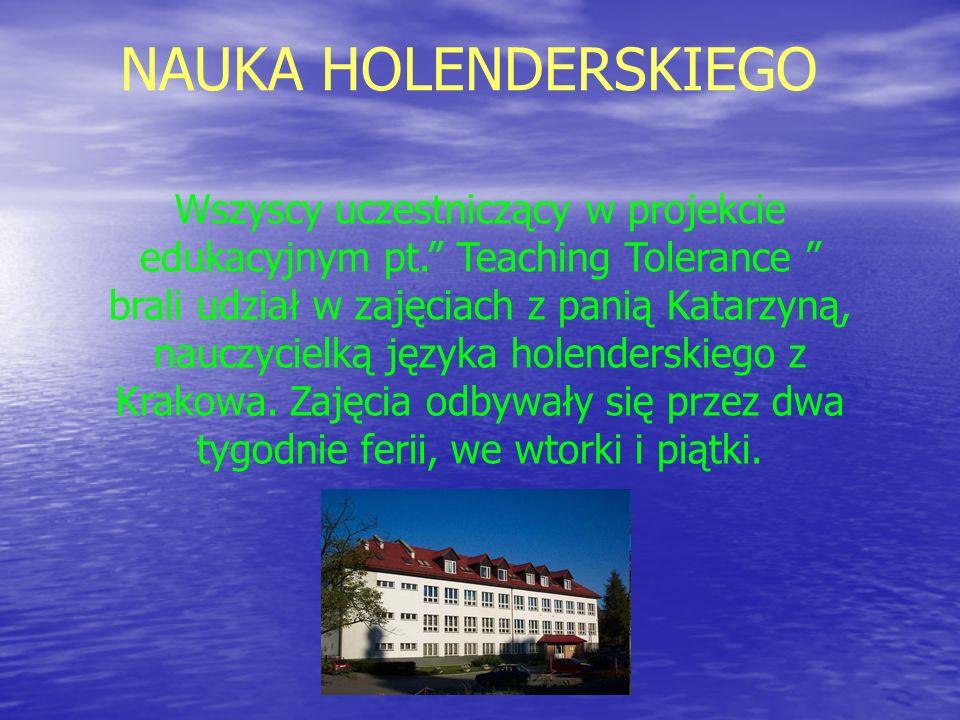 NAUKA HOLENDERSKIEGO