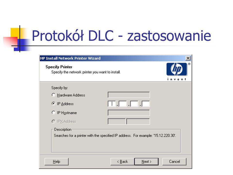 Protokół DLC - zastosowanie