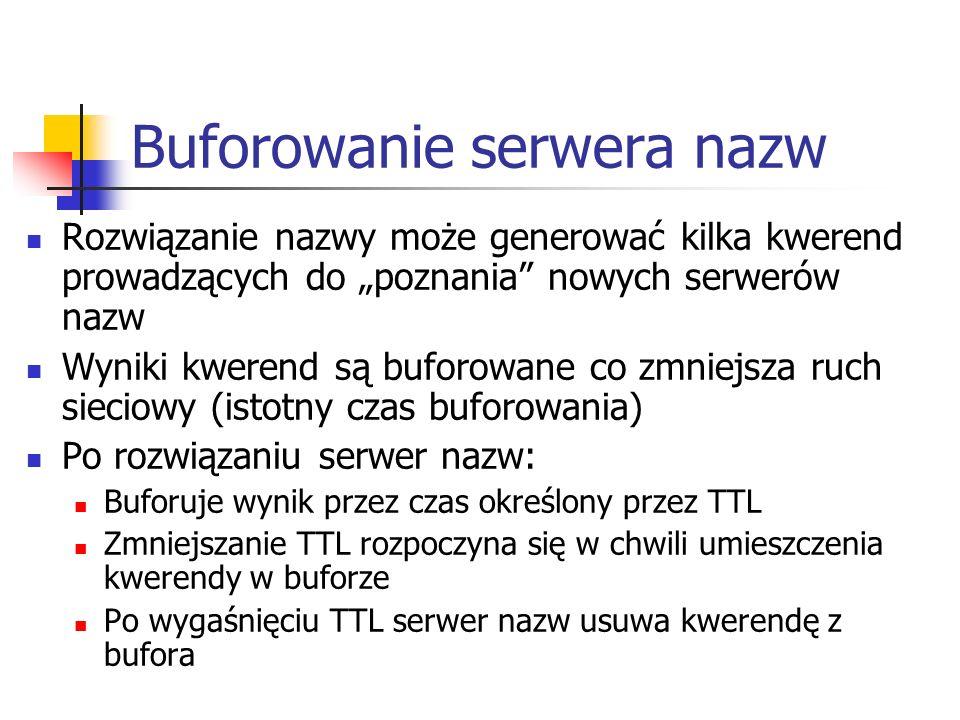 Buforowanie serwera nazw