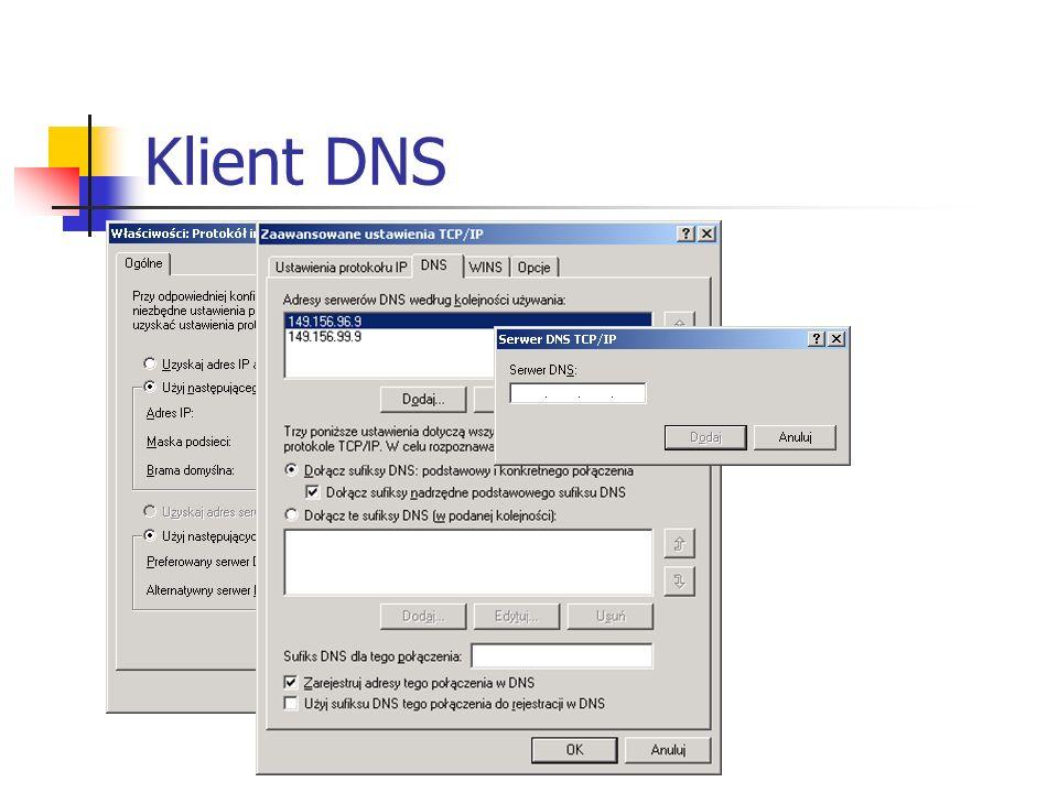 Klient DNS