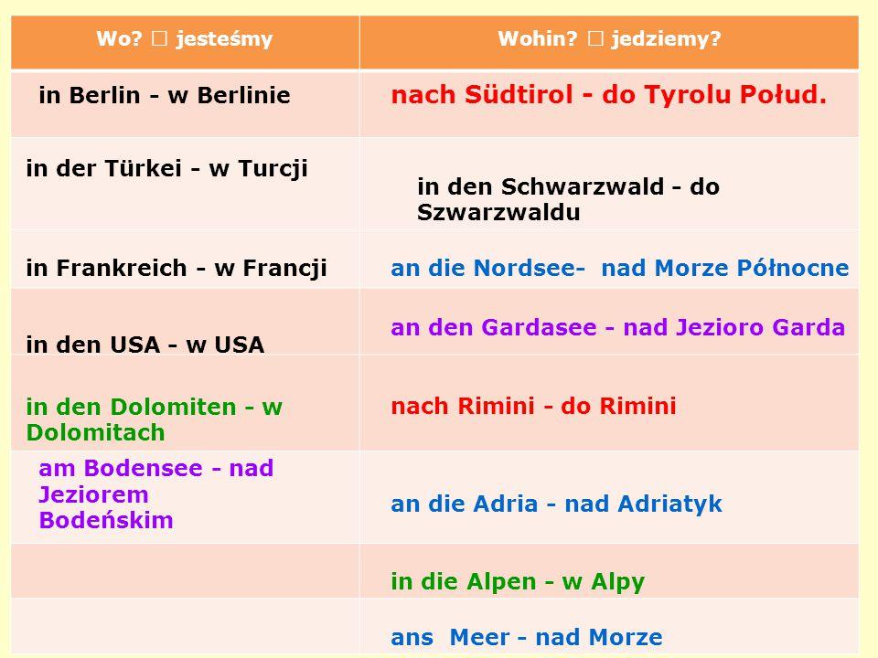 20/45 nach Südtirol - do Tyrolu Połud. in Berlin - w Berlinie