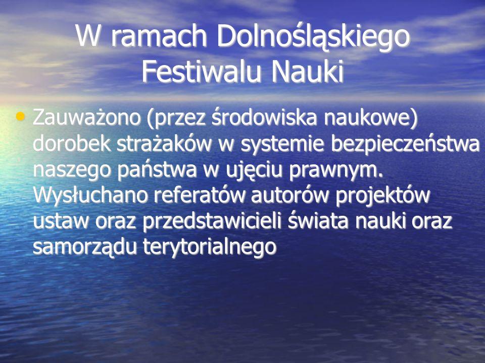 W ramach Dolnośląskiego Festiwalu Nauki