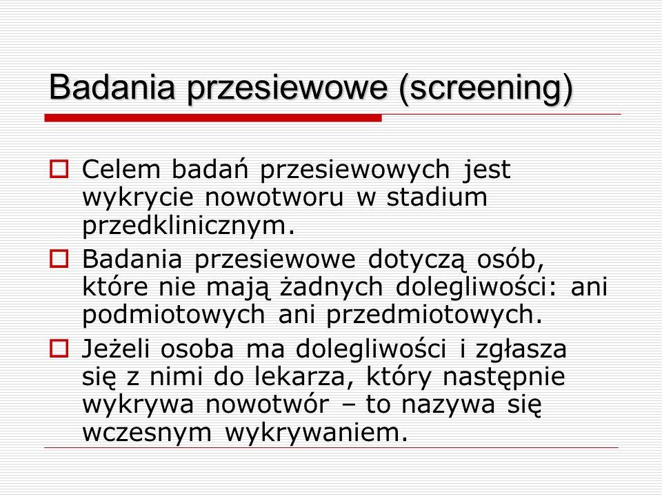 Badania przesiewowe (screening)