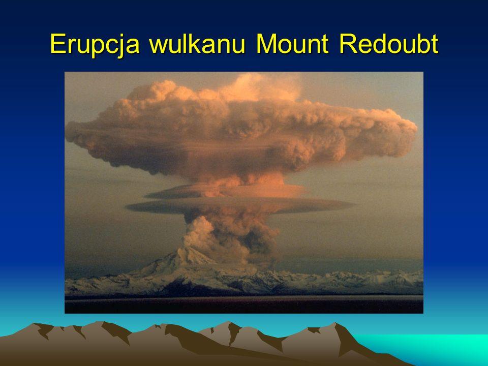 Erupcja wulkanu Mount Redoubt