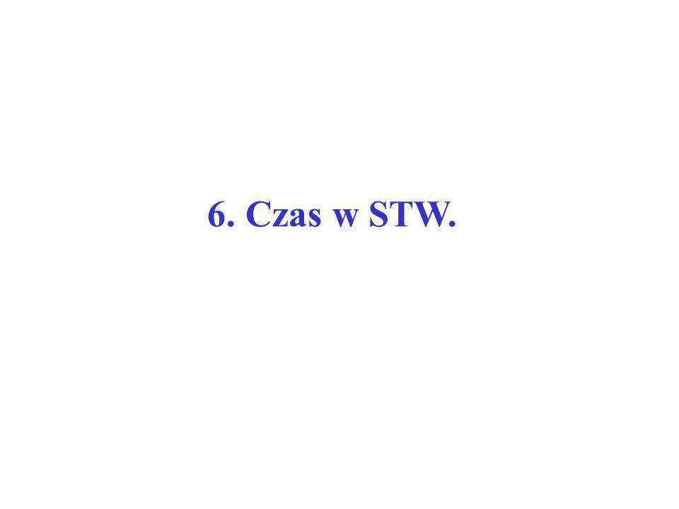 6. Czas w STW.